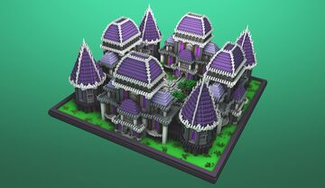 COMMISSION | Medieval Faction Spawn Minecraft Map & Project