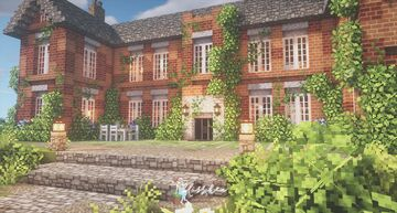English Country House ☕🌹 Minecraft Map & Project