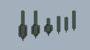 Cypress Tree Pack Minecraft Map & Project