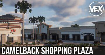 Camelback Shopping Plaza Minecraft Map & Project