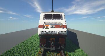 Howrah Rajdhani Express Minecraft Map & Project