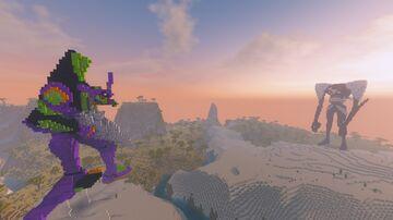 MINEGELION-01 WORLD(EVANGELION-like) Minecraft Map & Project