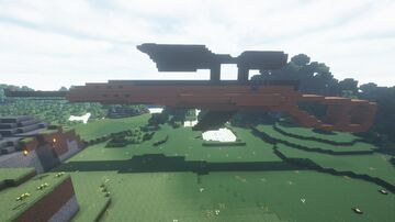 sniper shooting fireworks Minecraft Map & Project