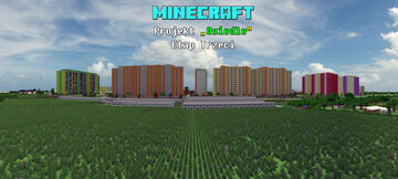 "Minecraft projekt ""Osiedle"" [Etap Trzeci] Minecraft Map & Project"