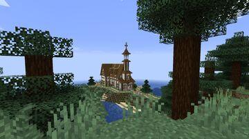 Custom Church Minecraft Map & Project