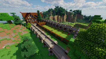 Medieval Archer Range Minecraft Map & Project