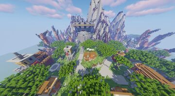 Mt.Boulder Isle Aka Rock Gym (Commissioned by MagmaBuilds) Minecraft Map & Project