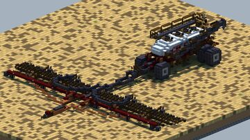 Case Ih, Flex Hoe 900 Air Drill. With Precision Air 4955 air cart [With Download] Minecraft Map & Project