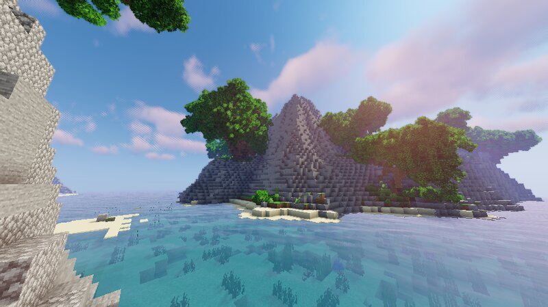 Island View With Shaders