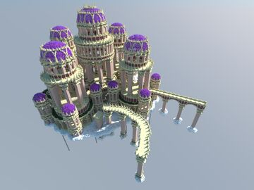 The Sky City of Athalux Minecraft Map & Project