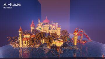 Al-Khadir - A middle eastern inspired fantasy village. Minecraft Map & Project