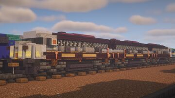 """Canadian Pacific - EMD FP9A + F9B """"Heritage"""" Minecraft Map & Project"""