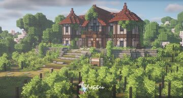 Dawn Winery from Genshin Impact 🌿🍇 Minecraft Map & Project