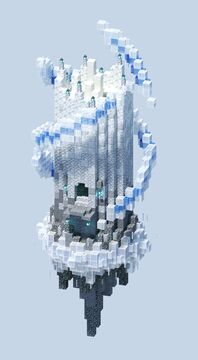 One Chunk Aether Tower Minecraft Map & Project