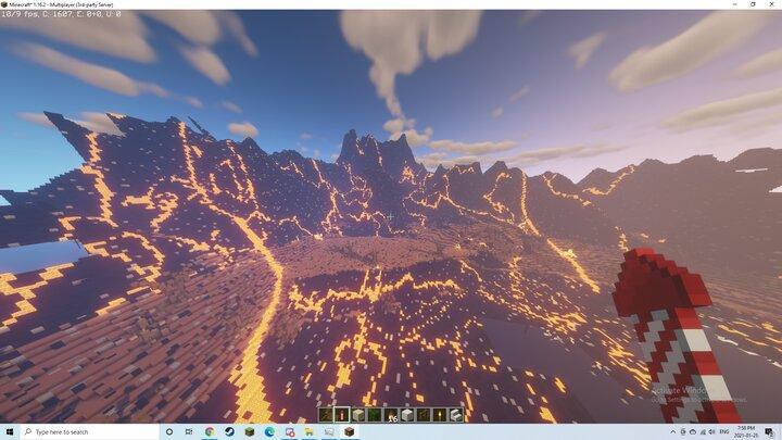 Vallem Volcano gonna make cave Dwellings for dwarves here