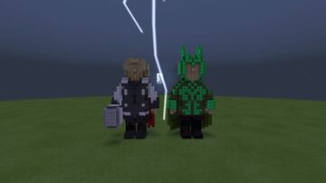 Thor and Loki! Minecraft Map & Project