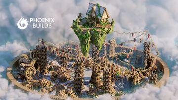 🏗 IDUSTRIAL ARENA PVP| 200x200 | PhoenixBuilds 🏗 Minecraft Map & Project