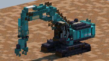 Kobelco SK400DLC-10, demolition Excavator [With Download] Minecraft Map & Project