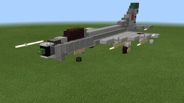 1.5:1 scale Sukhoi Su-9 Minecraft Map & Project