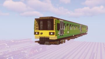 Great Western Railway Class 143 Pacer Minecraft Map & Project
