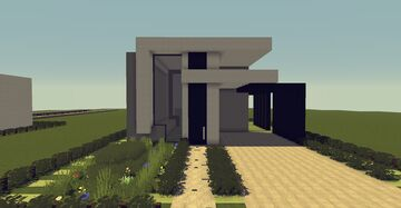 Modern House #5   1.12.2 Minecraft Map & Project