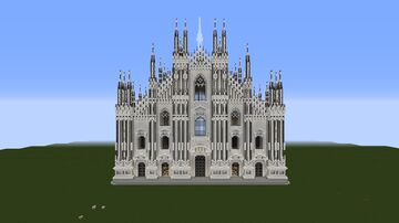 Milan cathedral Minecraft Map & Project