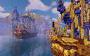 Fantasy Harbour city in minecraft 1.15 Minecraft Map & Project