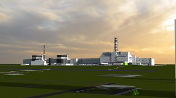 Chernobyl Nuclear Power Plant. (Before Disaster) Minecraft Map & Project