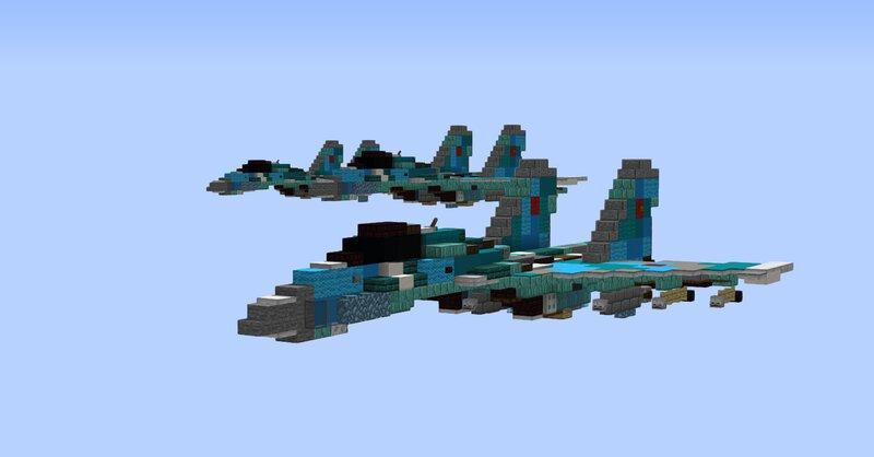 Sukhoi Su-35 1.5:1 scale