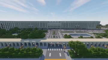 Bank of Spain~ Money heist (Ministerio de fomento) Minecraft Map & Project