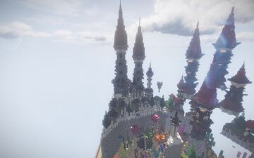 51x51 Gothic Castle Plot Minecraft Map & Project