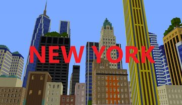 NEW YORK CITY (UPDATED) (WIP) Minecraft Map & Project
