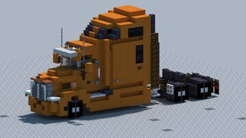 Kenworth T660, Truck [With Download] Minecraft Map & Project