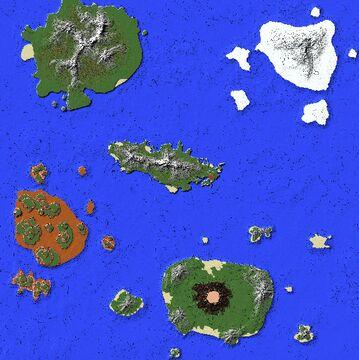 5k x 5k Survival World || Free Minecraft Map & Project