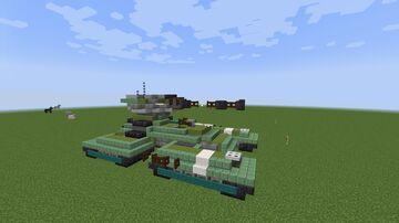 Halo | M808C Scorpion Tank Minecraft Map & Project