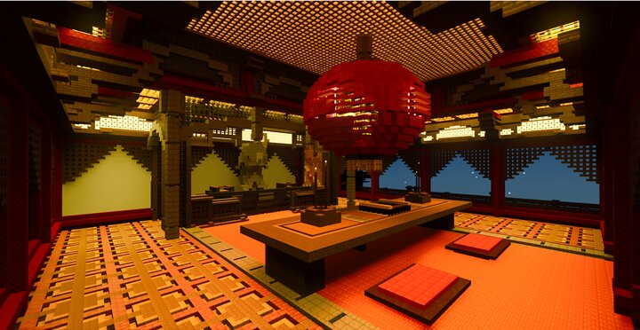 Temple Interior, RTX Screenshot