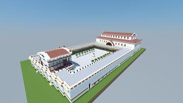 Forum Novum Leptis Magna 16.5 Minecraft Map & Project