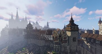 Karburg [medieval capital] Minecraft Map & Project