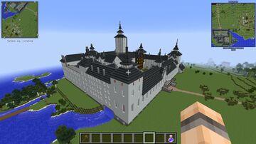 Tre Kronor castle, Stockholm Minecraft Map & Project