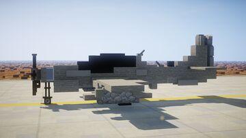 1,5:1 Embraer EMB 314 Super Tucano Minecraft Map & Project