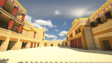 Palace Of Knossos Minecraft Map & Project