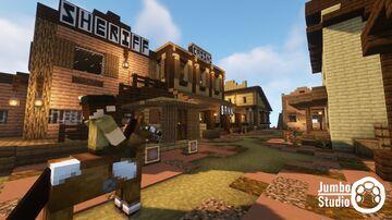 A Western Village Minecraft Map & Project