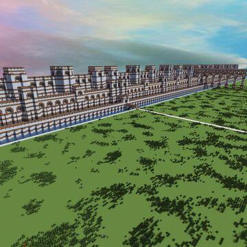 Roman Walls +tutorial Minecraft Map & Project