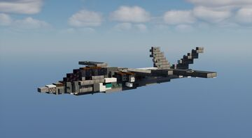 Textron Scorpion - 2:1 Scale Minecraft Map & Project