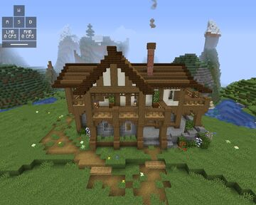 Big medival house Minecraft Map & Project