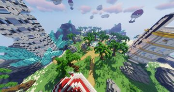 EvoCraft Pixelmon Spawn- Gym - City - Town ( Completed Commission by Magma ) Minecraft Map & Project