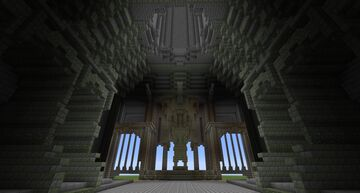 The Shrine of Worship 1:1 WIP Minecraft Map & Project