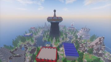 TerriaPixelmon Custom Pixelmon - Pokemon Map 300x300 (Commissioned by MagmaTeam ) Minecraft Map & Project