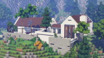 Modern Barn Conversion House/Keralis Minecraft Map & Project