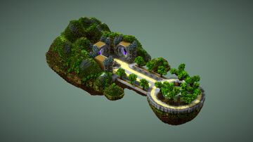 Spring island spawn V21 [4/6] Minecraft Map & Project